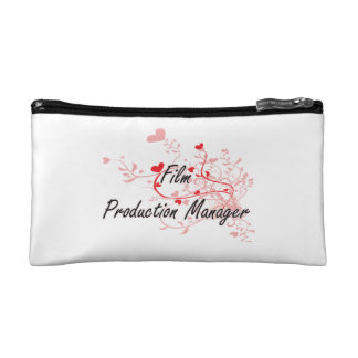 Film Production Manager Artistic Job Design with H Makeup Bag