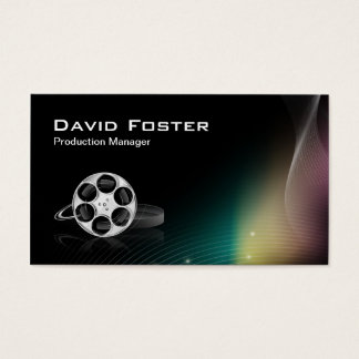 Film Production Manager Director Producer Cutter Business Card