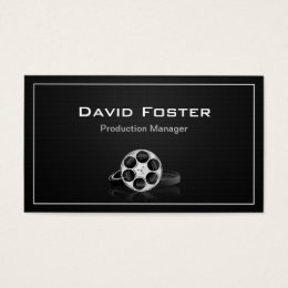 Managing director business cards templates zazzle film production manager director producer cutter business card colourmoves Choice Image