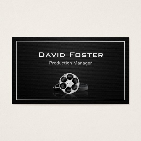 Film production manager director producer cutter business card film production manager director producer cutter business card colourmoves Image collections