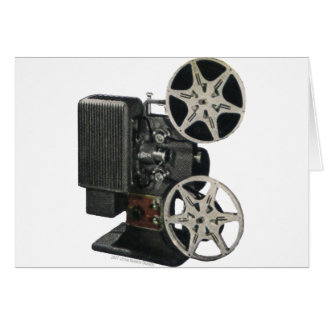 Film Projector 1947 Card