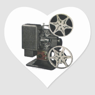 Film Projector 1947 Sticker