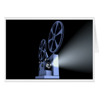 Film Projector Blank Card