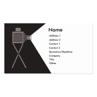 Film Projector Double-Sided Standard Business Cards (Pack Of 100)