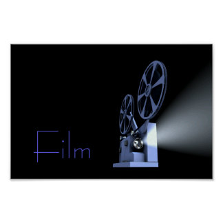 Film Projector Poster Print