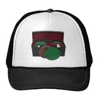Film reel box trucker hat