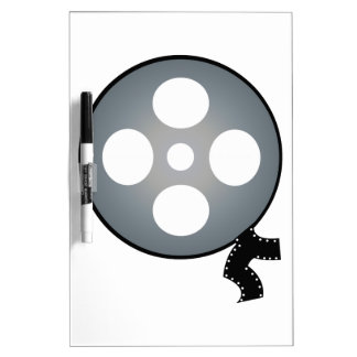 Film Reel Dry Erase Board