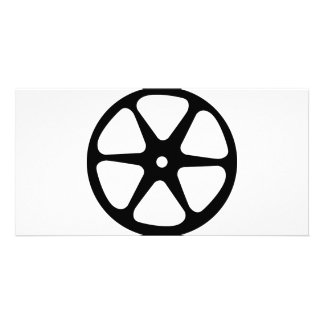 film reel icon card