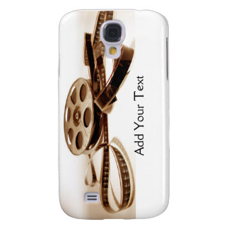 Film Reel in Sepia Tones Background Samsung Galaxy S4 Case