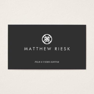 Filmmaking studio colorful tiles creative business card zazzle colourmoves Choice Image