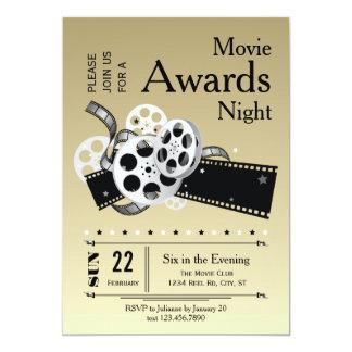"Film Reel Movie Awards Party Invitation 5"" X 7"" Invitation Card"