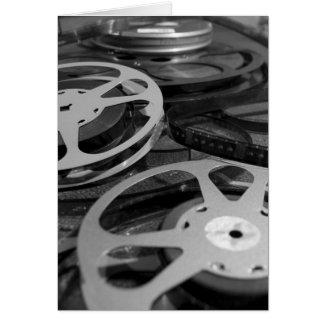 Film Reel / Movie Reel Card
