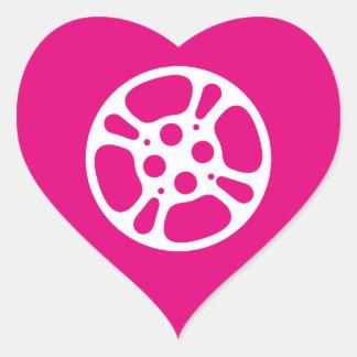 Film Reel / Movie Reel Heart Sticker