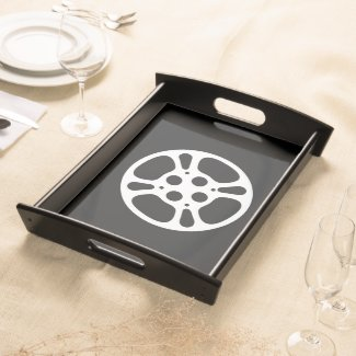 Film Reel / Movie Reel Home Theater Serving Tray