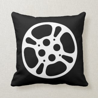 Film Reel / Movie Reel Pillow