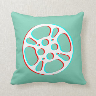 Film Reel / Movie Reel Pillow (Color Fringe)