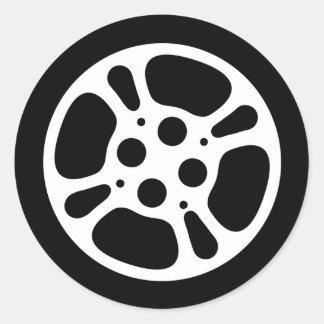 Film Reel / Movie Reel Round Sticker