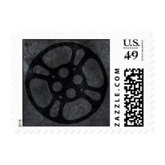 Film Reel / Movie Reel Stamp