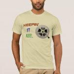 Film Reel Projectionist T Shirt