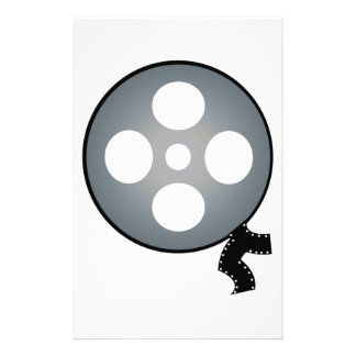Film Reel Custom Stationery