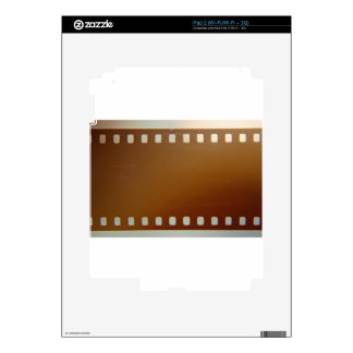 Film roll color decals for iPad 2