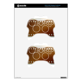 Film roll color xbox 360 controller decal