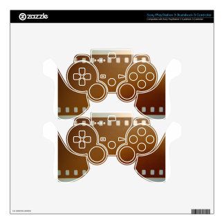 Film roll color PS3 controller skin
