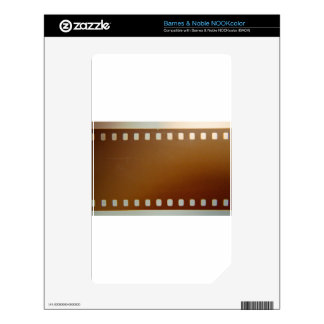 Film roll color skins for the NOOK color
