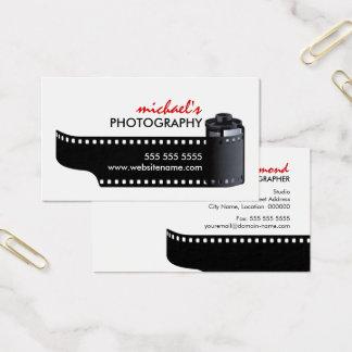 Film Roll Photographer Business Card