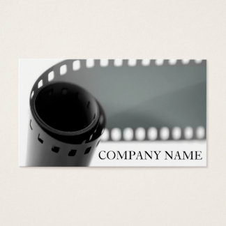 Film Roll Photography Business Card