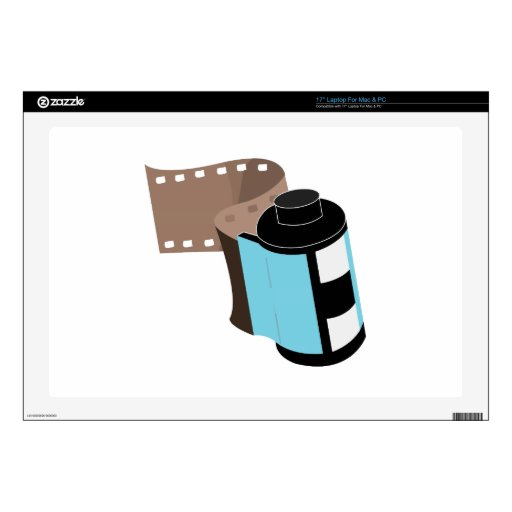 Film Roll Decal For Laptop