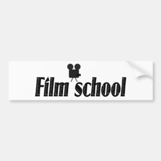 Film School Bumper Sticker