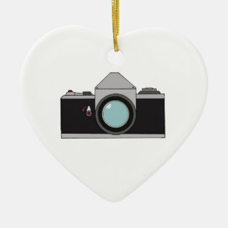 Film SLR Camera Ceramic Ornament
