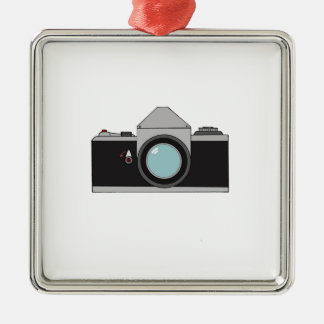 Film SLR Camera Metal Ornament