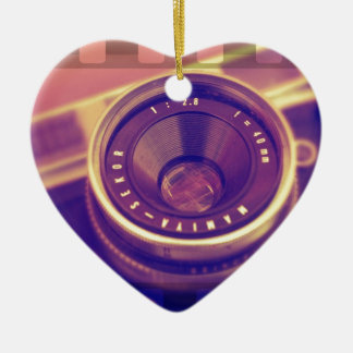 Film SLR Ceramic Ornament