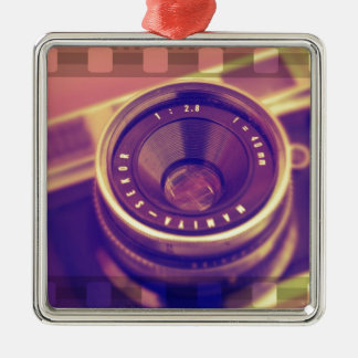 Film SLR Metal Ornament