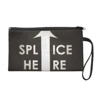 Film Splice Here Wristlet