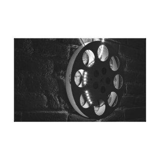 Film Spool Canvas Print