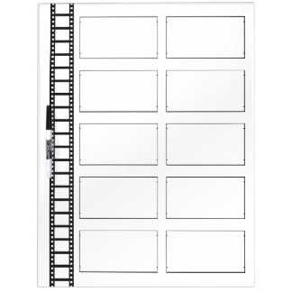 Film Storyboard Dry Erase Board