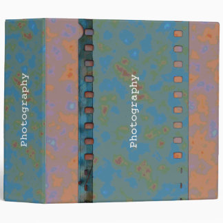Film Strip 3 Ring Binder