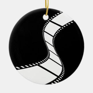 Film Strip Ceramic Ornament