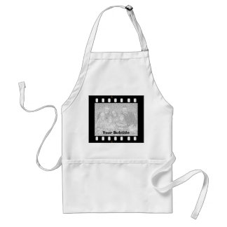 Film Strip Custom Photo Frame Crafts Cook Chef Adult Apron