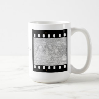 Film Strip Custom Photo Frame Directors Mug