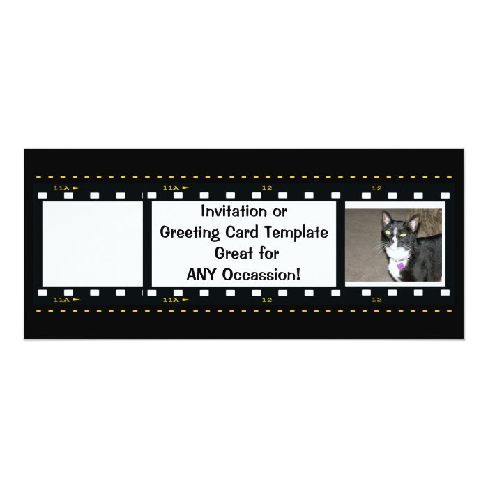 Film Strip-Customize Free Card