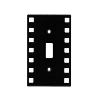 Film Strip Light Switch Cover