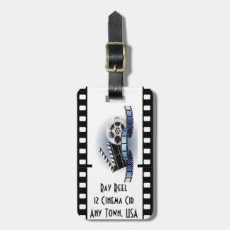 Film Strip Luggage Tag