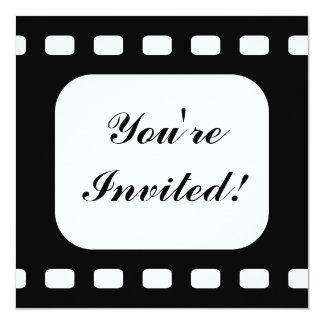 Film Strip Movie Birthday Party Custom Invitation