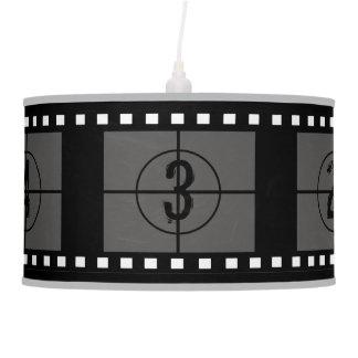 Film Strip Movie Reel Hanging Lamp