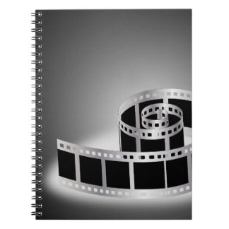 Film strip notebooks