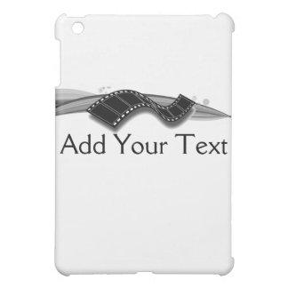 Film Strip on Black and White Ribbon iPad Mini Covers